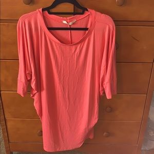 Coral, Stitch Fix top